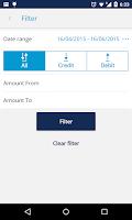 Screenshot of KBC Ireland Mobile Banking