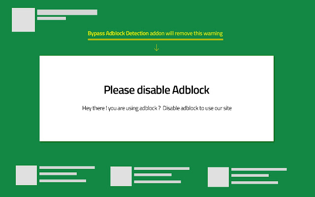 Bypass AdBlock Detection