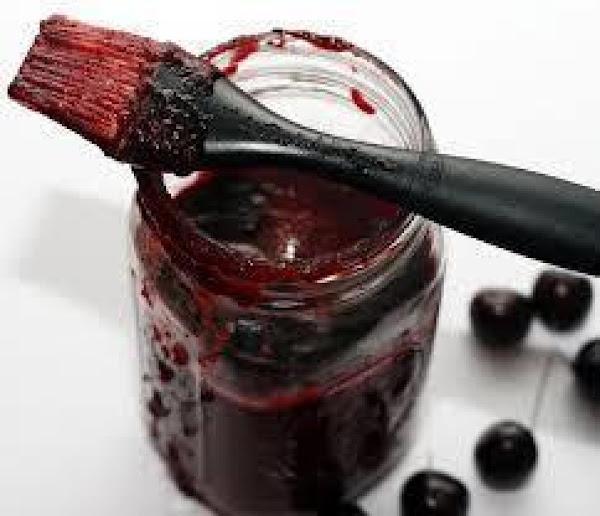 Sweet Cherry Bourbon Barbecue Sauce Recipe