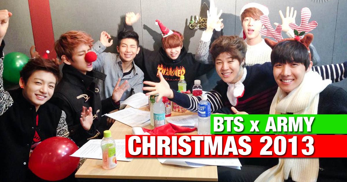 Here S How Bts Celebrated Their First Christmas With Army