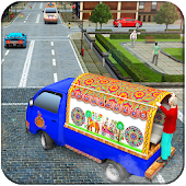 Real Van Driving Games 2019: Public Transport 3D Android APK Download Free By MAD Extreme Viral 3D Games Free