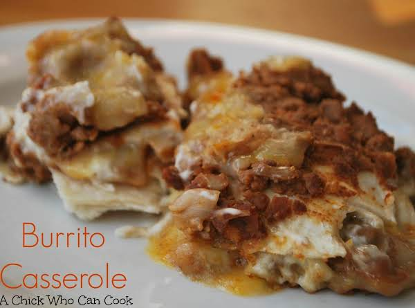The Burrito Casserole I Made From This Site.  The Whole Family Loved It.