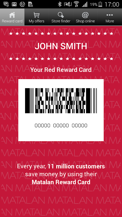 You can request a replacement Matalan card by visiting the customer service desk at one of our stores across the UK. Alternatively you can request a replacement card by visiting our dedicated Matalan card site at; mobzik.tk