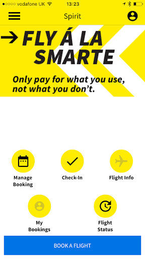 Spirit Airlines Check-in Hack for the game