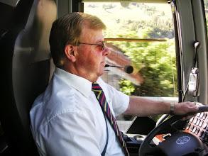 Photo: Unser Chauffeuer Ernst Sägesser