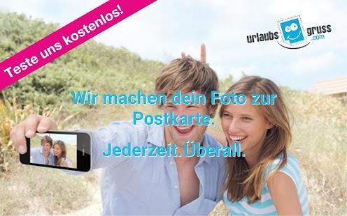 Urlaubsgruss Postkarten App