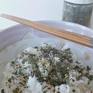 Homemade Furikake.