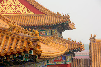 Photo: Day 190 -  Rooftops in The Forbidden Palace, Beijing (China)