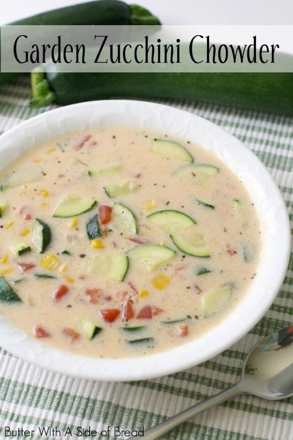 Garden Zucchini Chowder Recipe