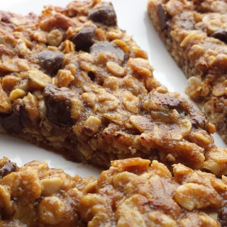 Ooey Gooey Chocolate Chip Chewy Bars