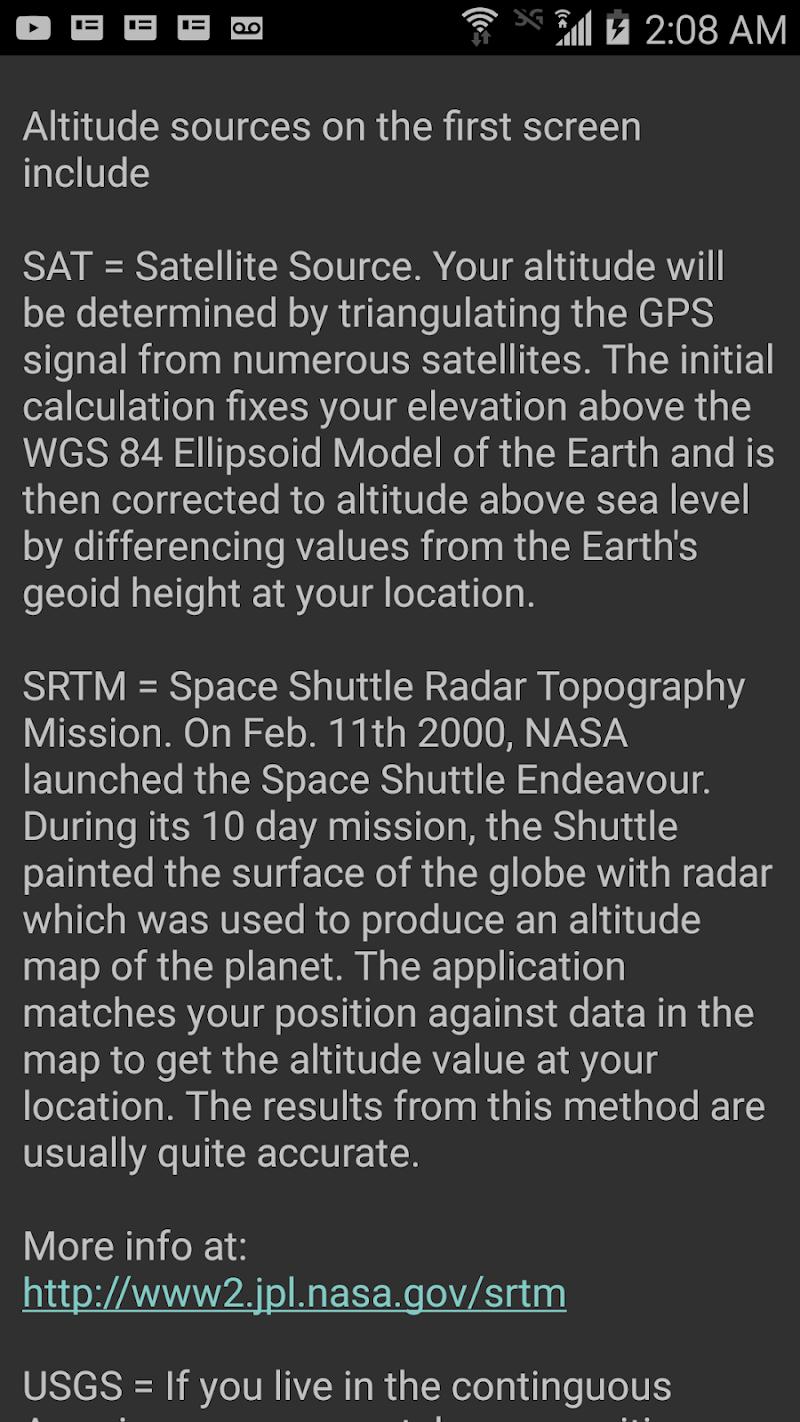 DS Altimeter Screenshot 12