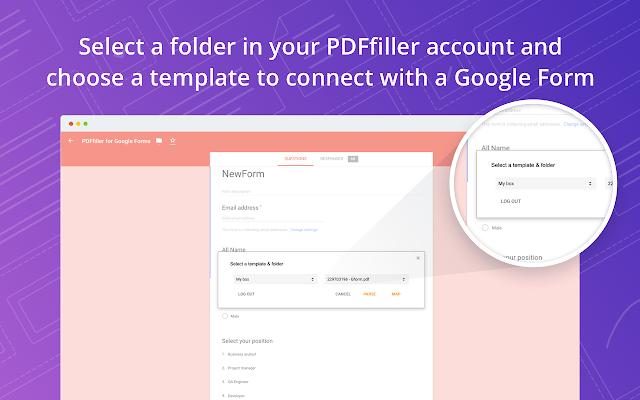 Pdffiller For Google Forms G Suite Marketplace