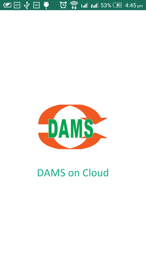 DAMS Cloud- screenshot