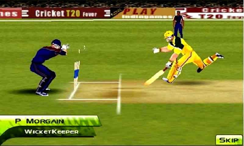Cricket T20 Fever 3D screenshot 2