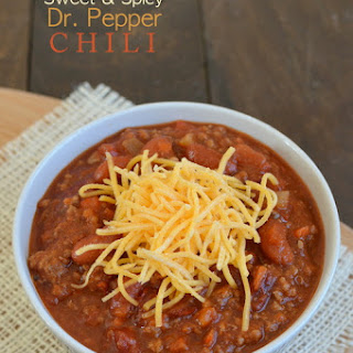 Sweet and Spicy Dr. Pepper Chili Recipe