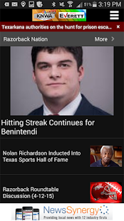 KNWA Northwest Arkansas News- screenshot thumbnail
