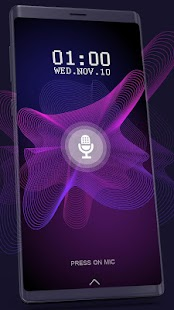 Voice Screen Lock 2020 : Unlock Screen By Voice Screenshot