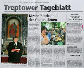 Photo: Landesbischof Andreas von Maltzahn in Borgfeld  Die Bankverbindung der Förderverein Dorfkirche Borgfeld: Sparkasse Neubrandenburg-Demmin BLZ: 15050200 KoNr.: 610008609 Ansprechpartner: Herr Prof. Dr. med. Klemt Schatzmeisterin: Frau Renate Block  oder: Evang.-Luth. Kirchgemeinde Ivenack  Pastorin Melanie Dangow  Eichenallee 25  17153 Ivenack   Mail: info@kirchenkreis-stargard.de   Web: http://www.kirchenkreis-stargard.de        Förderverein zur Erhaltung der Dorfkirche in Borgfeld e.V.   Eichenallee 25   17153 Ivenack