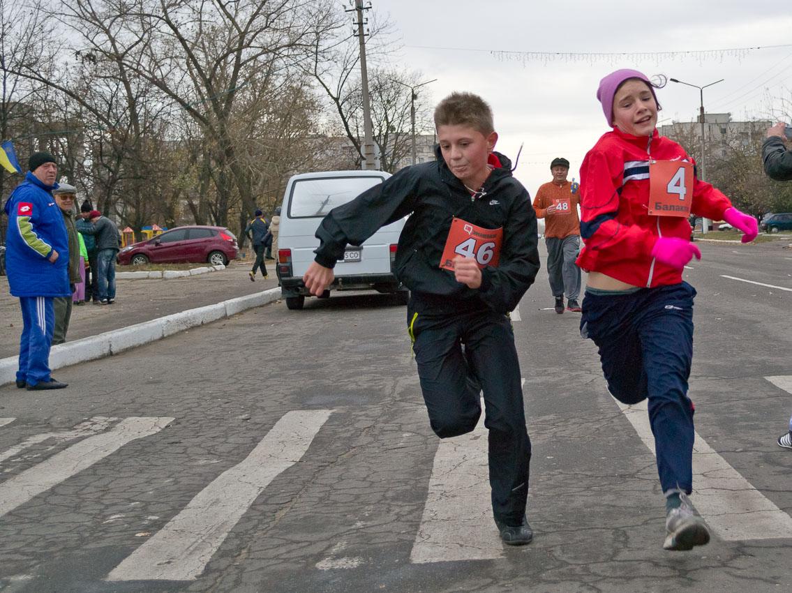 ХХХІ - традиционный легкоатлетический пробег
