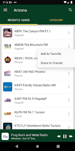 arizona radio stations - usa screenshot 1