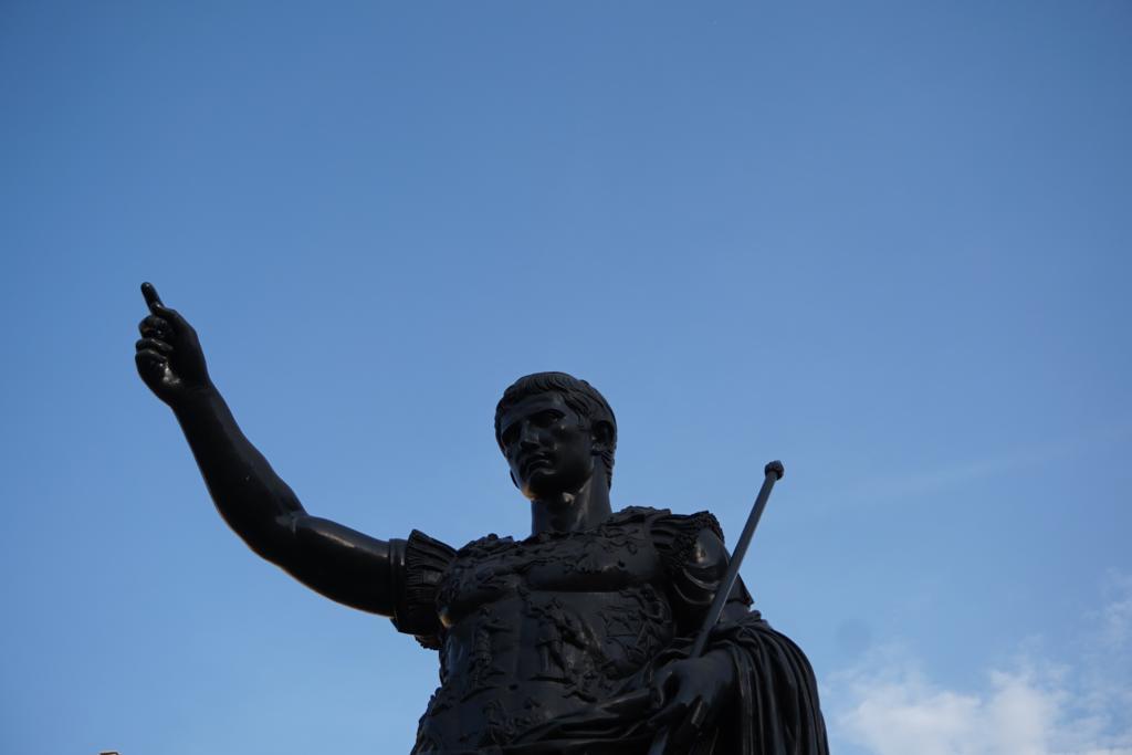Estatua del emperador Cesar Augusto