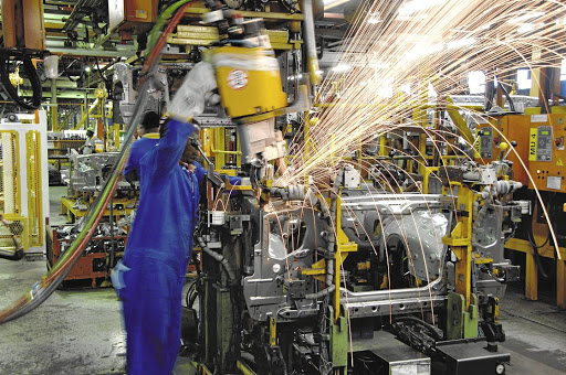 Incentivised manufacturing is the key to economic growth, says the writer. Picture: SUPPLIED