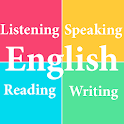 English Listening Speaking Reading Writing icon