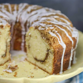 Streusel Coffee Cake Pound Cake Recipe