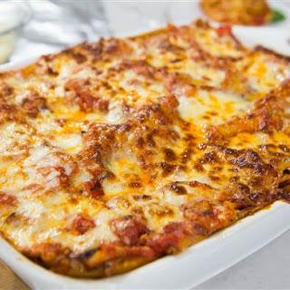Al Roker's Vegetable Lasagna.