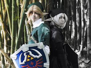 Photo: link & Dark Link