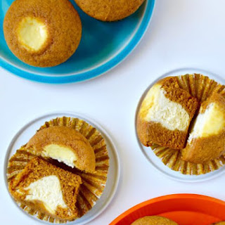 Cream Cheese-Filled Pumpkin Muffins