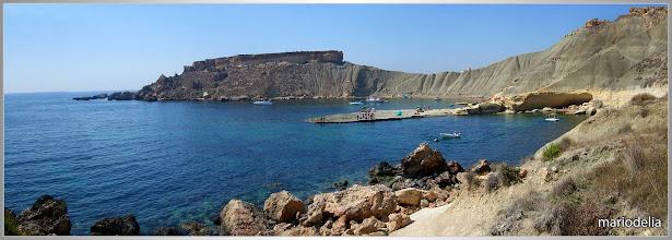 Photo: Gnejna, Malta (Nice place to swim)