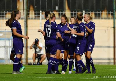 Tessa Wullaert maakt debuut bij RSC Anderlecht met felbevochten overwinning