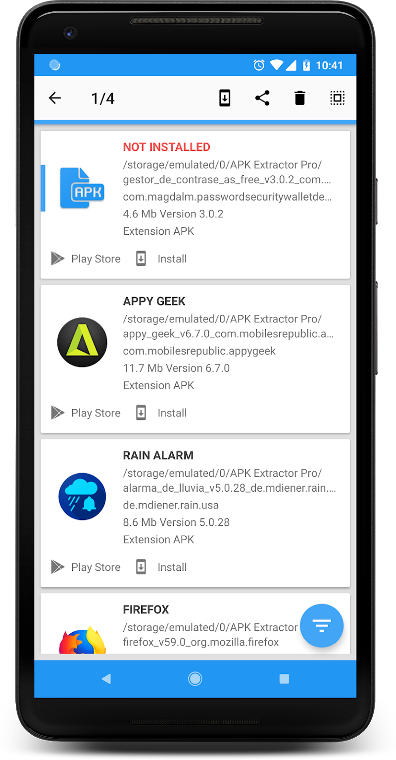 APK INSTALLER PRO Screenshot 1