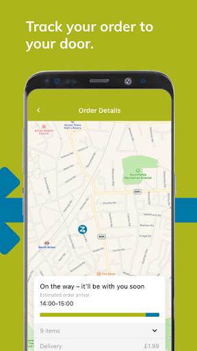 Ocado Zoom grocery delivery screenshot 4
