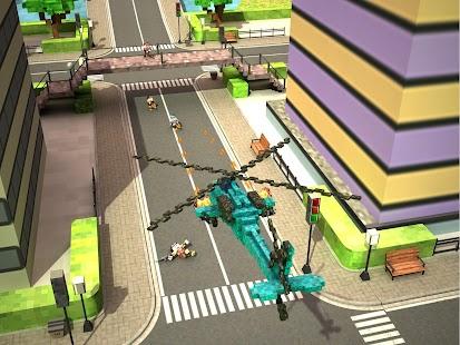 Blocky Copter in Compton- screenshot