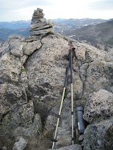 Photo: Mount Alice summit cairn. There is a second nearby spot that may be the true summit and I touched both just to be sure!