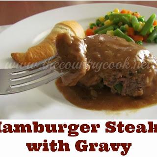 Hamburger Steaks and Gravy.