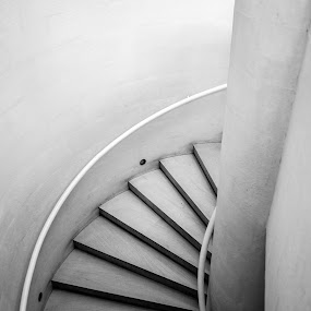 stairs by Paulo Rodrigues - Black & White Buildings & Architecture ( gulbenkian, arquitectura, interior, escadas, b&w, art, xt-1, architecture, city, photo/foto, cidade, stairs, local, lisboa )