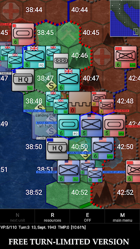 Télécharger Gratuit Allied Invasion of Italy 1943-1945 (free) mod apk screenshots 5