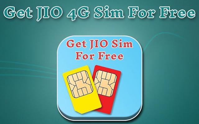 Get Jio 4G SIM For Free - screenshot