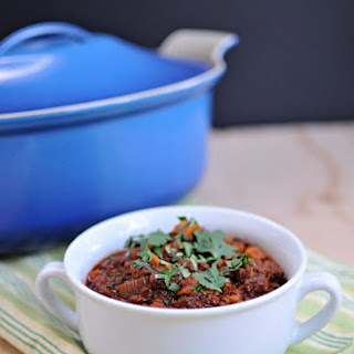 Award-Winning Vegan Soyrizo & Sweet Potato Chili