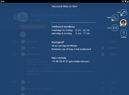 Rabo Bankieren- screenshot thumbnail