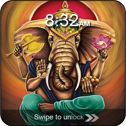 Ganesha Swipe Lock