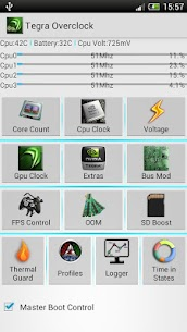 Tegra Overclock 1.7.3CN APK Mod for Android 1