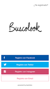 Buscolook network- screenshot thumbnail