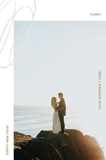 Jen & Judd's Wedding - New Year's template