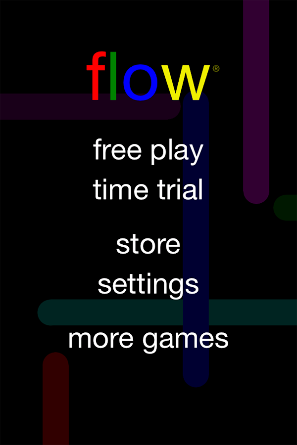 Screenshots of Flow Free for iPhone