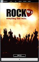Screenshot of Rock 92/7