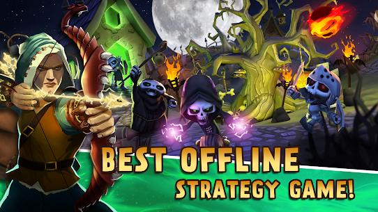 Skull Towers – Defender a Torre: Jogos offline [Mod Money] 7